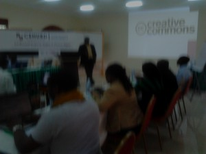 Fellows being introduced to CC initiatives in Uganda