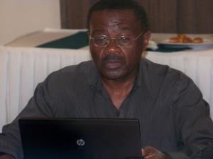 Prof. Ben Twinomugisha at the forum