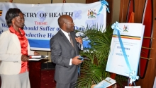 Launching the standards and guidelines on unsafe abortions to confront the public health crisis in Uganda
