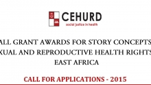 Media Call for Grant Application 2015