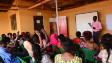 Information session for Persons Living with HIV and sex workers in Buikwe district