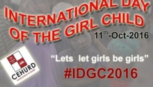 Cerebrating the International Day of the Girl Child