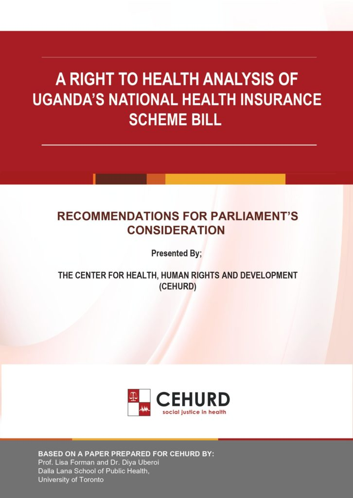 A Right to Health Analysis of Uganda's National Health ...